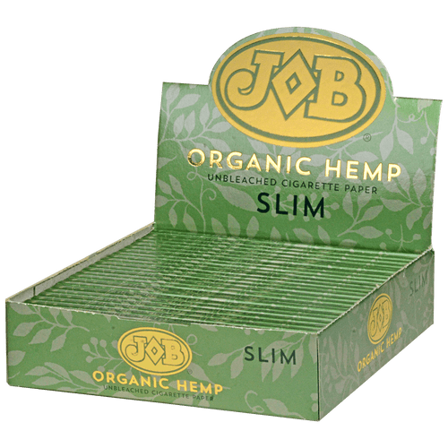 JOB Organic Hemp Cigarette Paper Slim 24Ct