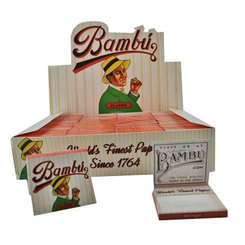 Big Bambu Cigarette Papers 100Ct