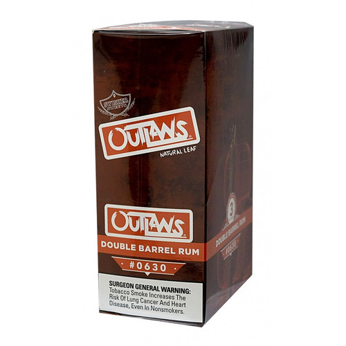 Swisher Sweets Outlaw Cigars Double Barrel Rum