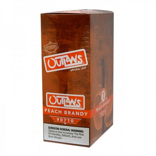 Swisher Sweets Outlaw Cigars Peach Brandy
