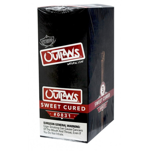 Swisher Sweets Outlaw Cigars Sweet Cured