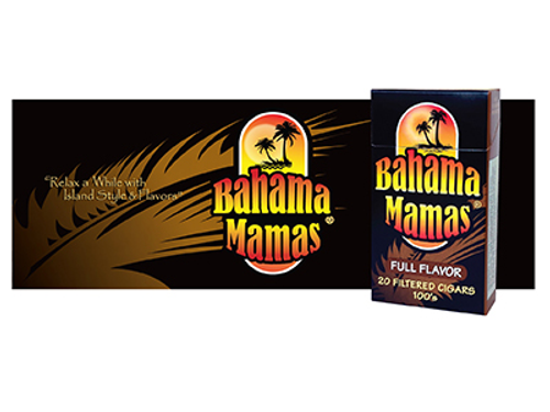Bahama Mama Filtered Cigars Full Flavor