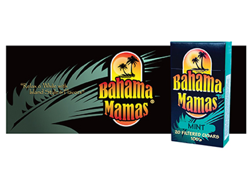 Bahama Mama Filtered Cigars Mint