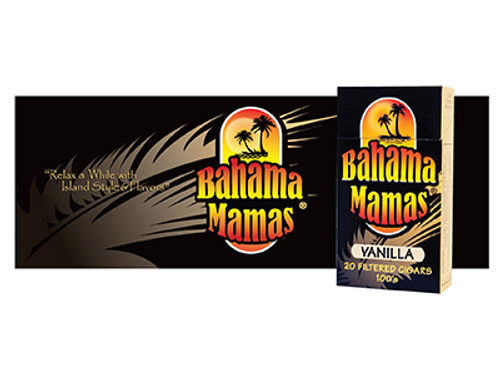 Bahama Mama Filtered Cigars Vanilla