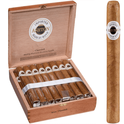 Asthon Classic Cigars Churchill 25Ct Box