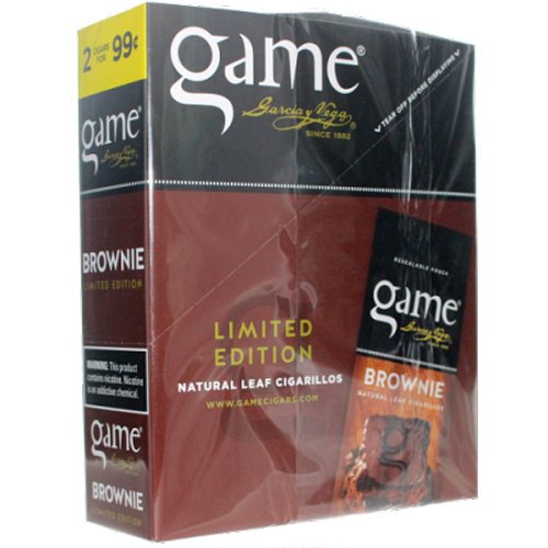 Game Leaf Cigars Brownie 15/2