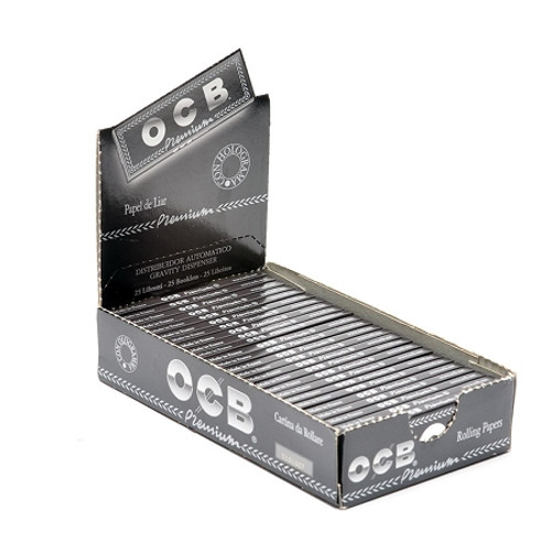 OCB Premium 1 1/4 Rolling Papers 24Ct
