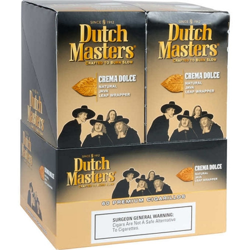 Dutch Masters Cigarillos Crema Dolce Foil 20/3