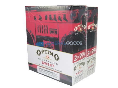 Optimo Cigarillos Foil Pack Sweet