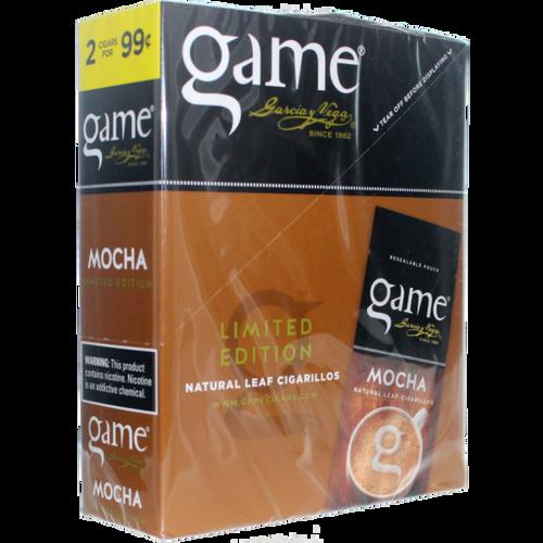 Game Leaf Cigars Mocha 15/2
