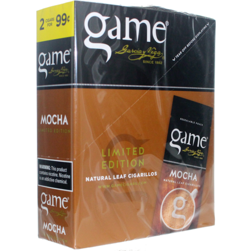 Game Leaf Cigars Mocha 15/2