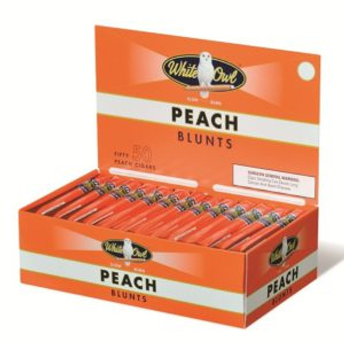 White Owl Blunts Cigars Peach 50ct