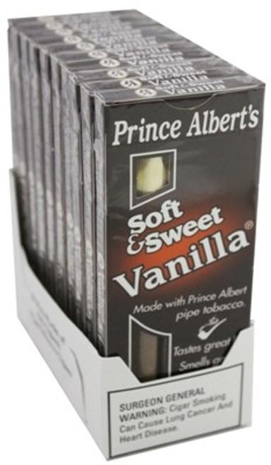 Prince Albert Cigars Soft & Sweet Vanilla Pack