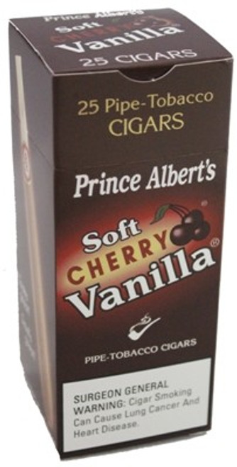 Prince Albert Cigars Soft Cherry Vanilla Box