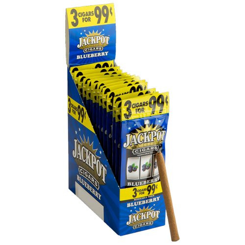 Jackpot Cigarillos Blueberry 15/3Ct