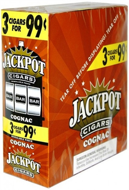 Jackpot Cigarillos Cognac 15/3Ct