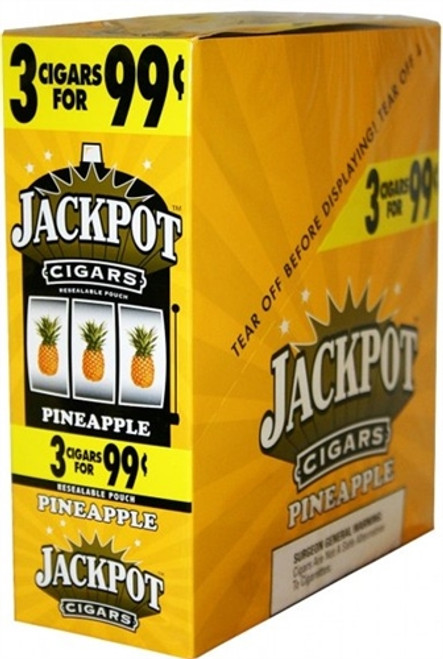 Jackpot Cigarillos Pineapple 15/3Ct