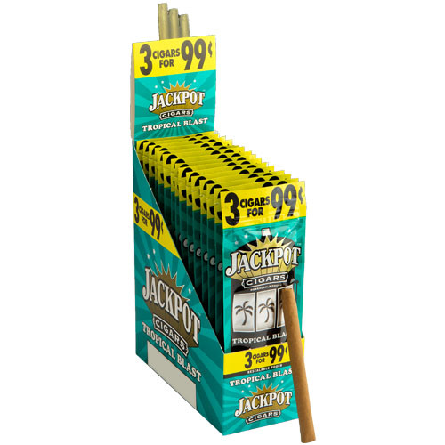 Jackpot Cigarillos Tropical Blast 15/3Ct