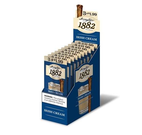 Garcia Y Vega 1882 Irish Cream Cigars 3 for 1.99