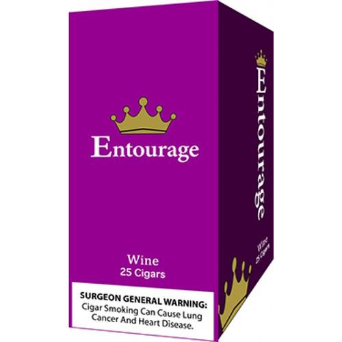 Entourage Cigars Wine 25Ct