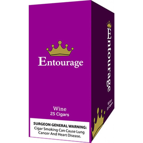 Entourage Cigars Wine 25Ct