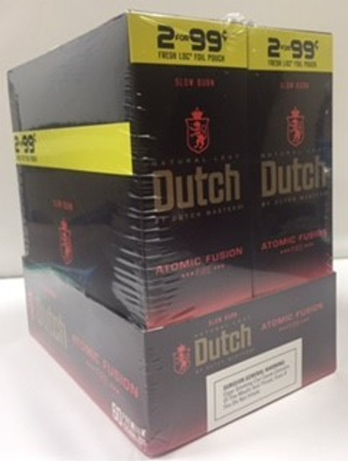 Dutch Masters Cigarillos Foil Atomic Fusion 30 Pouches of 2