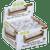 OCB Wood Composite Rolling Machine Roller 1 1/4 6 Ct. Box