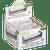 OCB Wood Composite Rolling Machine Roller Single Wide 6 Ct. Box