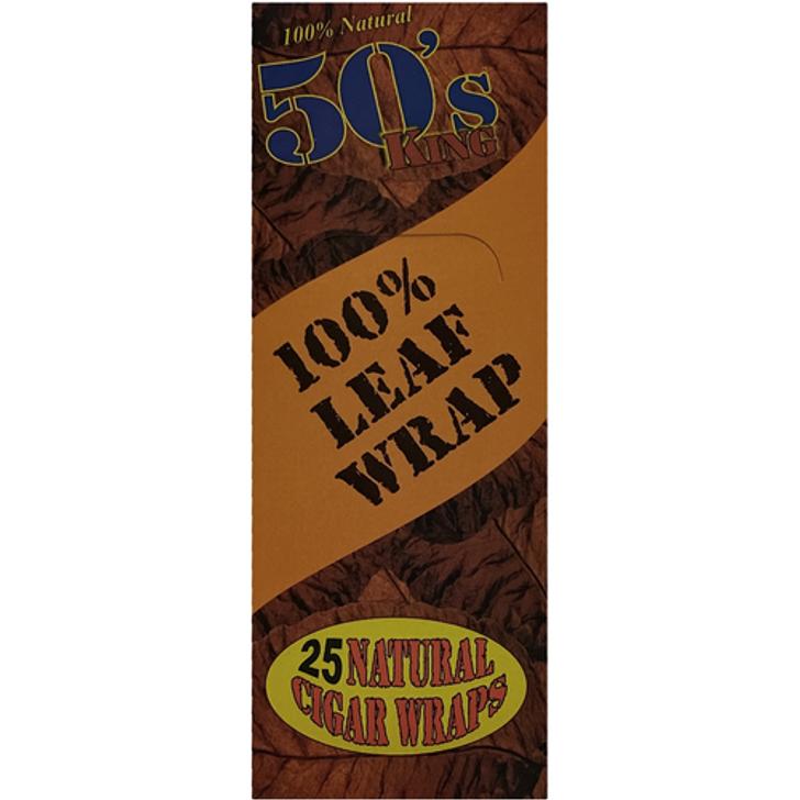 50's King Cigar Leaf 25ct