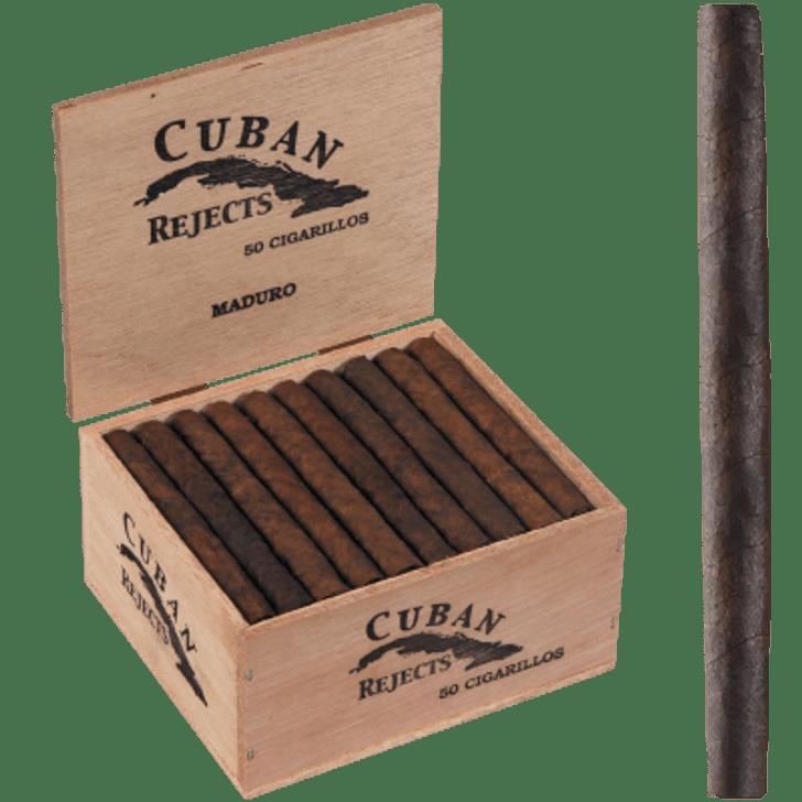 Cuban Rejects Classic Cigarillos Maduro 50 Ct. Box
