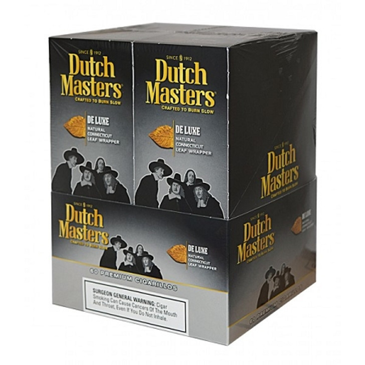 Dutch Masters Cigarillos De Luxe Foil 20 Pouches of 3