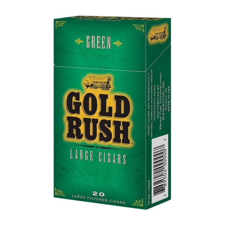 Gold Rush Filtered Cigars Menthol