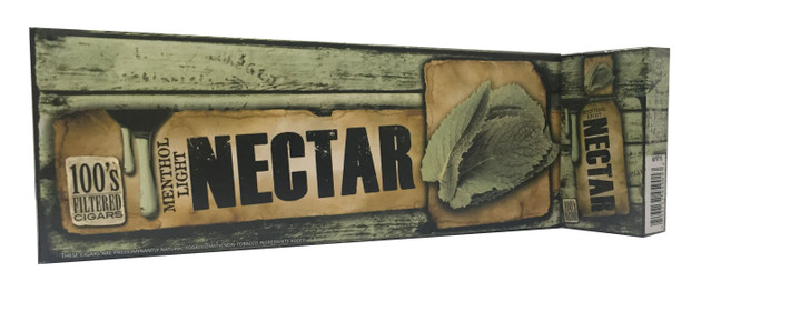 Nectar Filtered Cigars Menthol Light