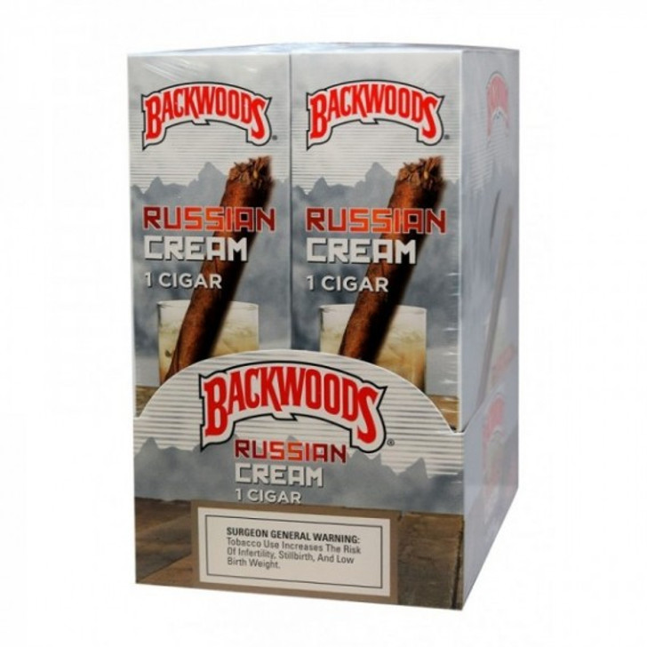 Backwoods Russian Cream Cigars 24ct