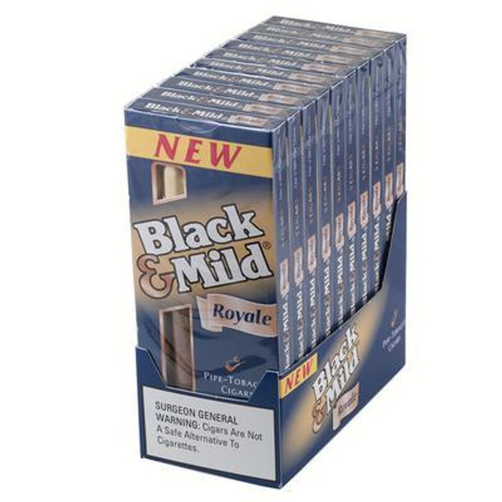 Black & Mild Cigars Royal Wood Tip Pack
