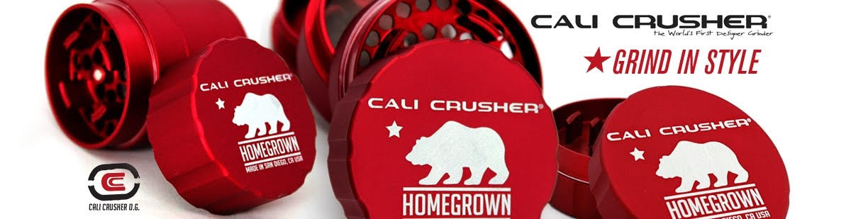 Weed Grinders by Cali Crusher