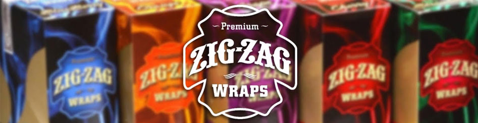 We have All Flavors of Zig Zag Wraps