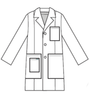 Men's Lab Coat (Max Style)