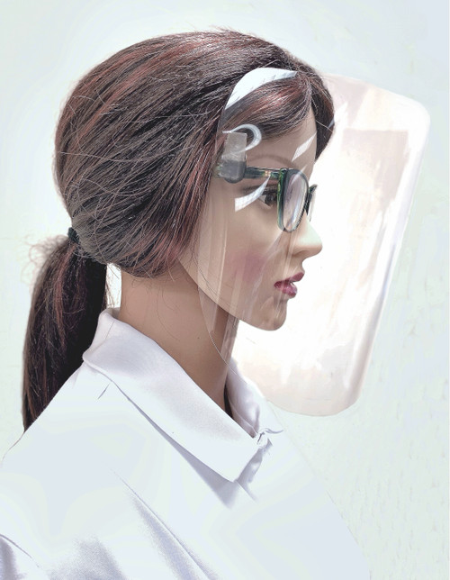 Comfort Clip-On Face Shield -   HELPING TO MAKE OUR NEW NORMAL MORE COMFORTABLE  $30-$34