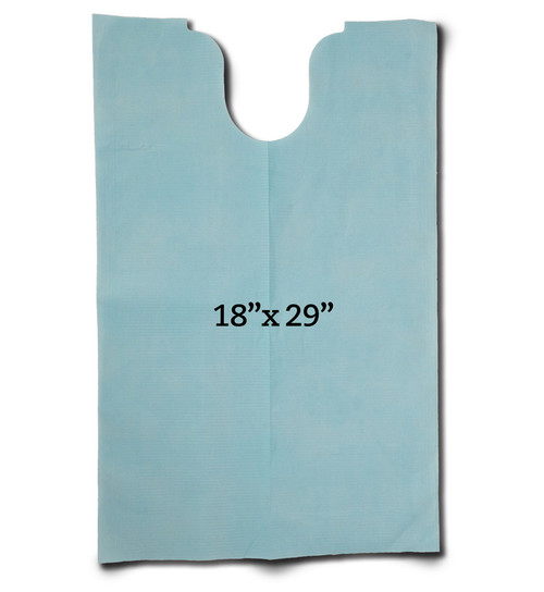 One Case 480 Bibs GantGuard™ Healthcare Clothing Protectors (contact us for special pallet pricing)