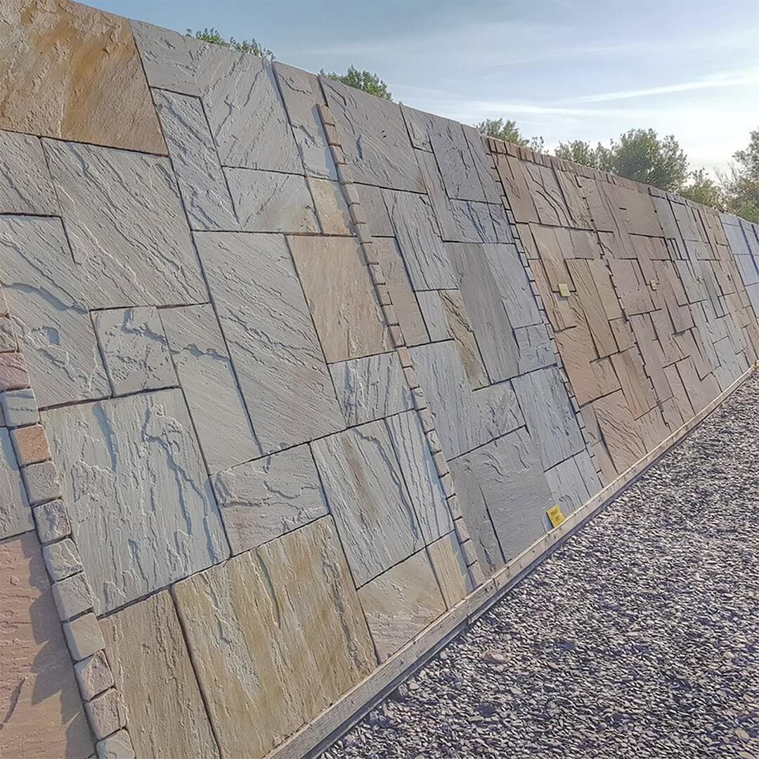 Indian sandstone display boards