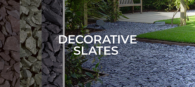 Decorative Slates & Chippings