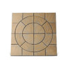 Chalice Circle 3.24m² Kit Honey Brown