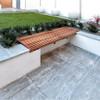 Nero Santiago Porcelain Paving Private Garden