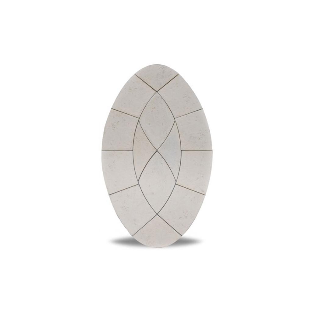 Piccolo Oval Limestone