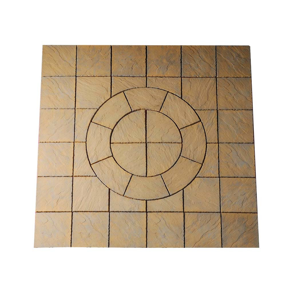 Chalice Circle 7.29m² Kit Honey Brown