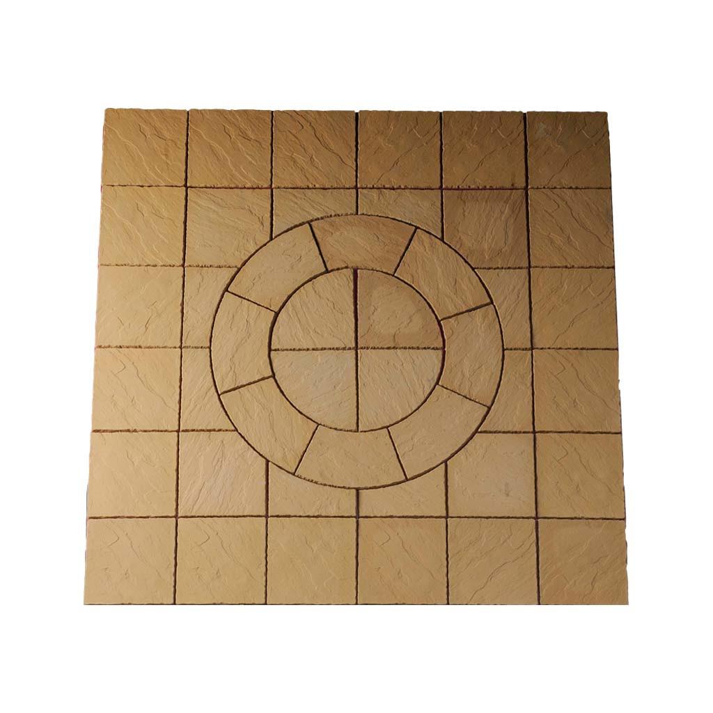 Chalice Circle 7.29m² Kit Mellow Gold