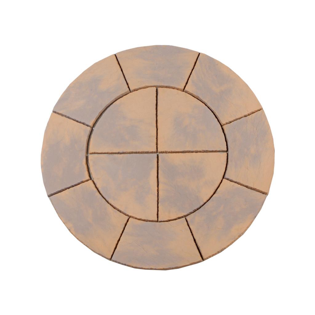 Chalice Circle 1.5m Honey Brown