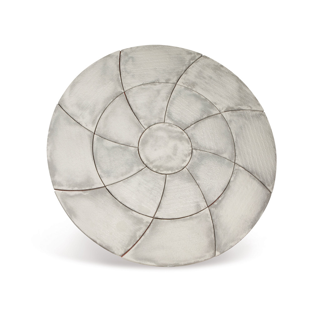 Catherine Wheel Circle 2.09m Weathered Slate