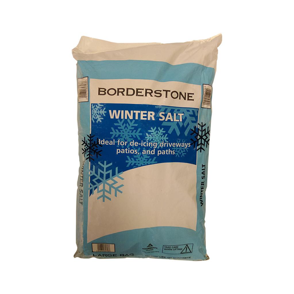 Rock Salt Poly Bag